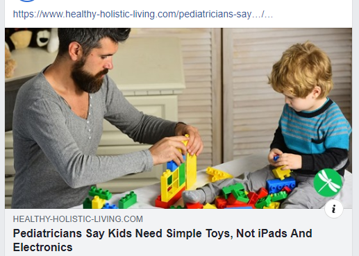 Pediatricians Say Kids Need Simple Toys Not IPads And Electronics Pic