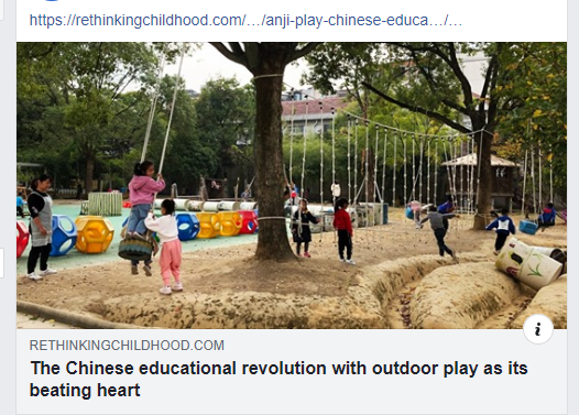 The Chinese Educational Revolution With Outdoor Play As Its Beating Heart Pic