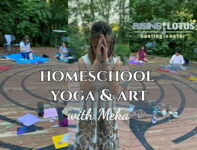 Homeschool Yoga & Art with Meka